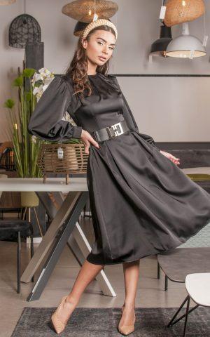 שמלת אוסקר סאטן